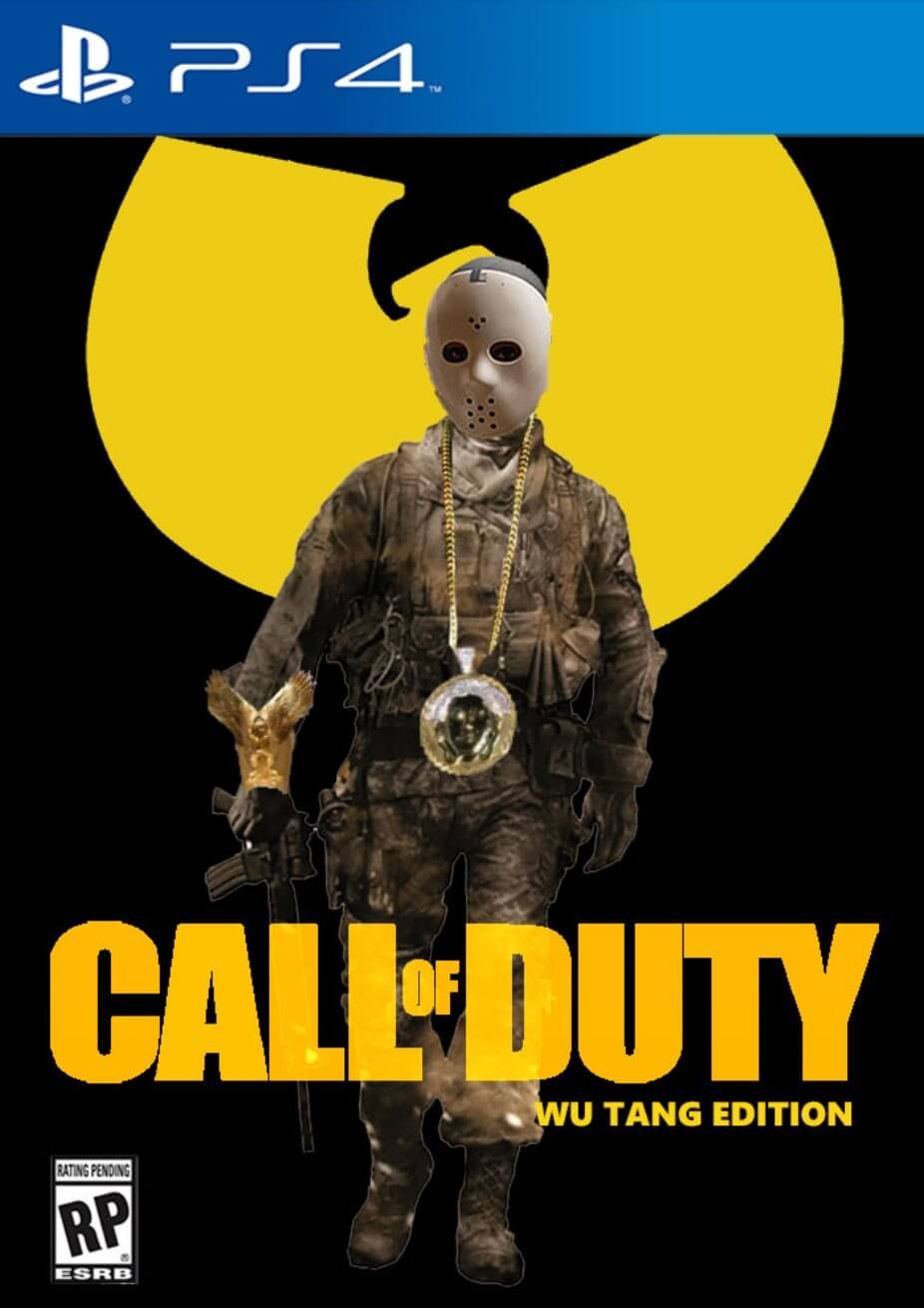 Awesome Totally Awesome Wu-Tang Clan Call of Duty