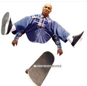 Alfonso Rawls EverybodySkates Awesome Totally Awesome