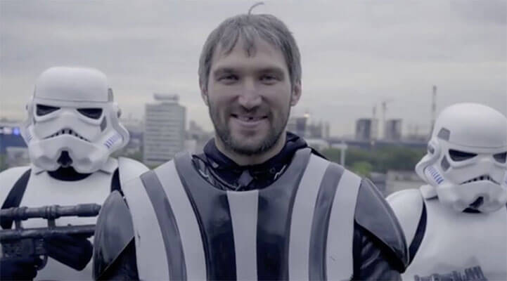 Alex Ovechkin - NHL's True Golden Knight