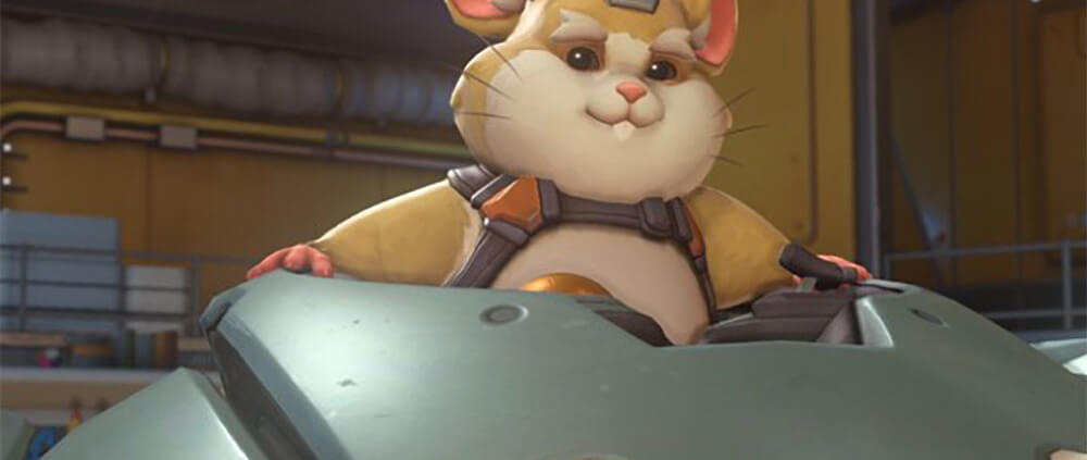 Awesome Totally Awesome Overwatch Hamster