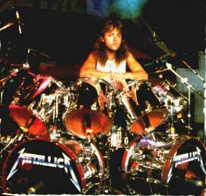 Awesome Totally Awesome young Lars Ulrich