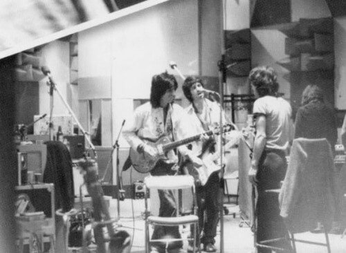Awesome Totally Awesome - Rolling Stones at work in 1978