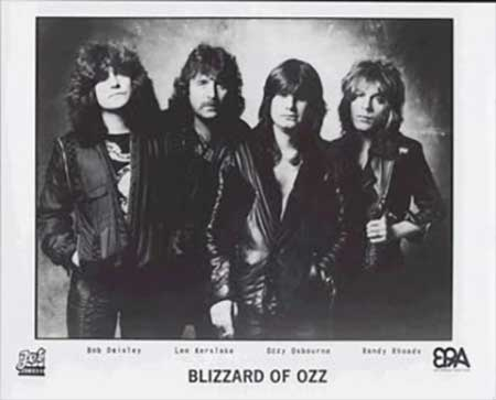 Awesome Totally Awesome - Bilzzard Of Ozz Original Lineup