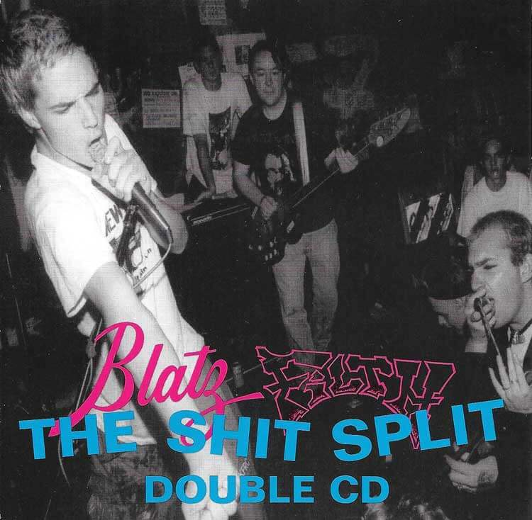 Awesome Totally Awesome - Blatz S**T SPLIT